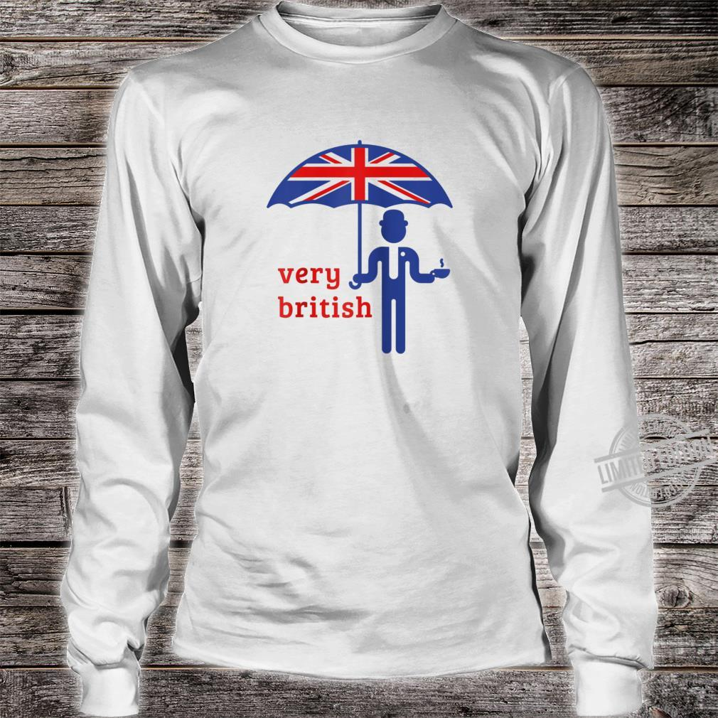 British Accent Shirt Kiss Me I am British Tee Shirt long sleeved