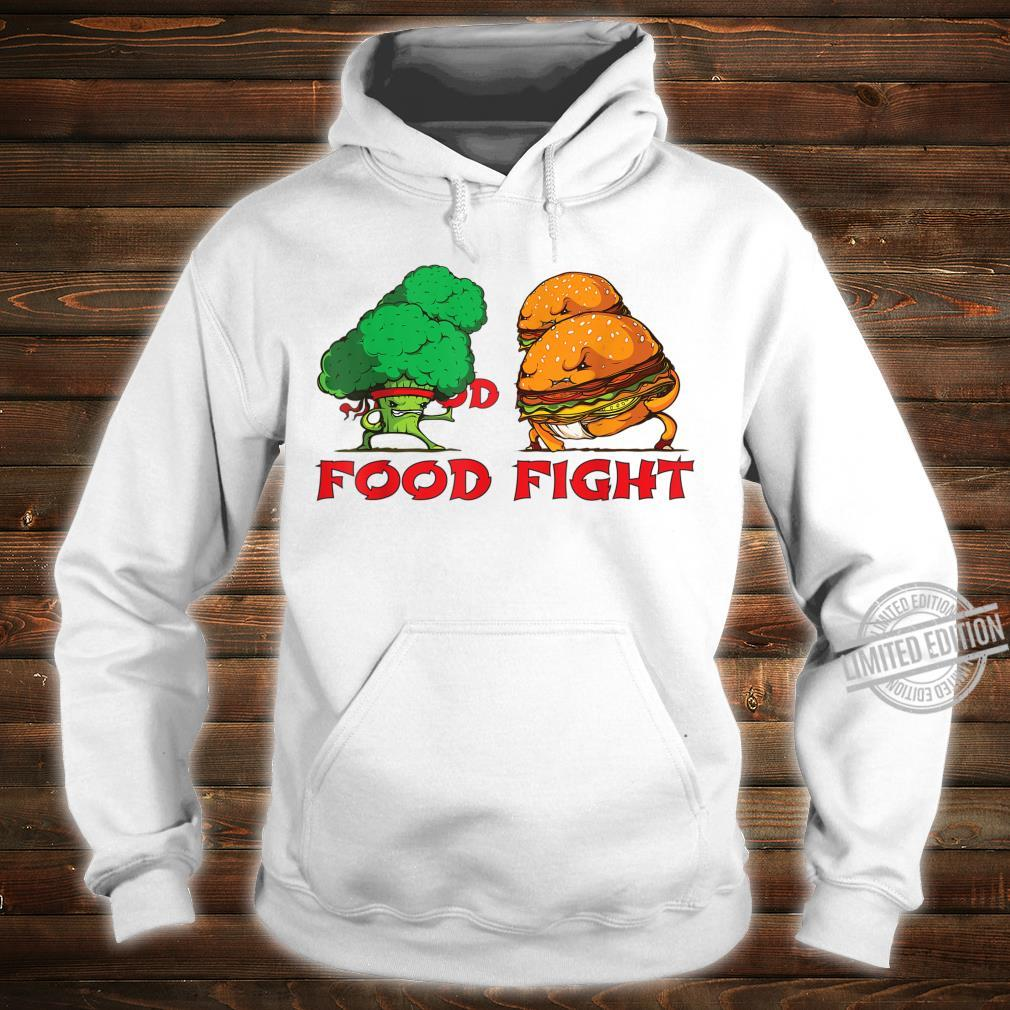 Broccoli and Burger Fighting Food For Martial Artss Shirt hoodie