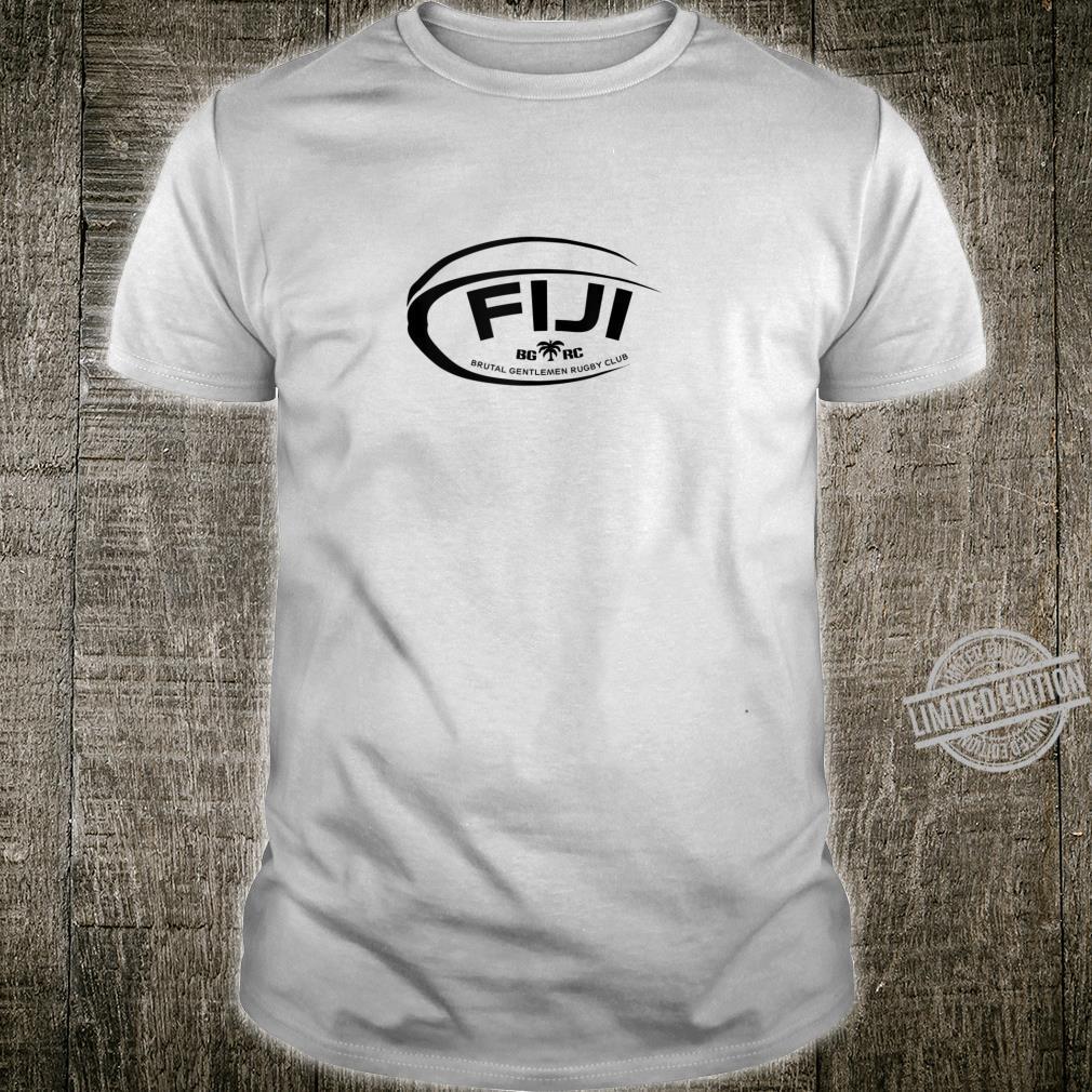Brutal Gentlemen Fiji Rugby Football Icon Shirt