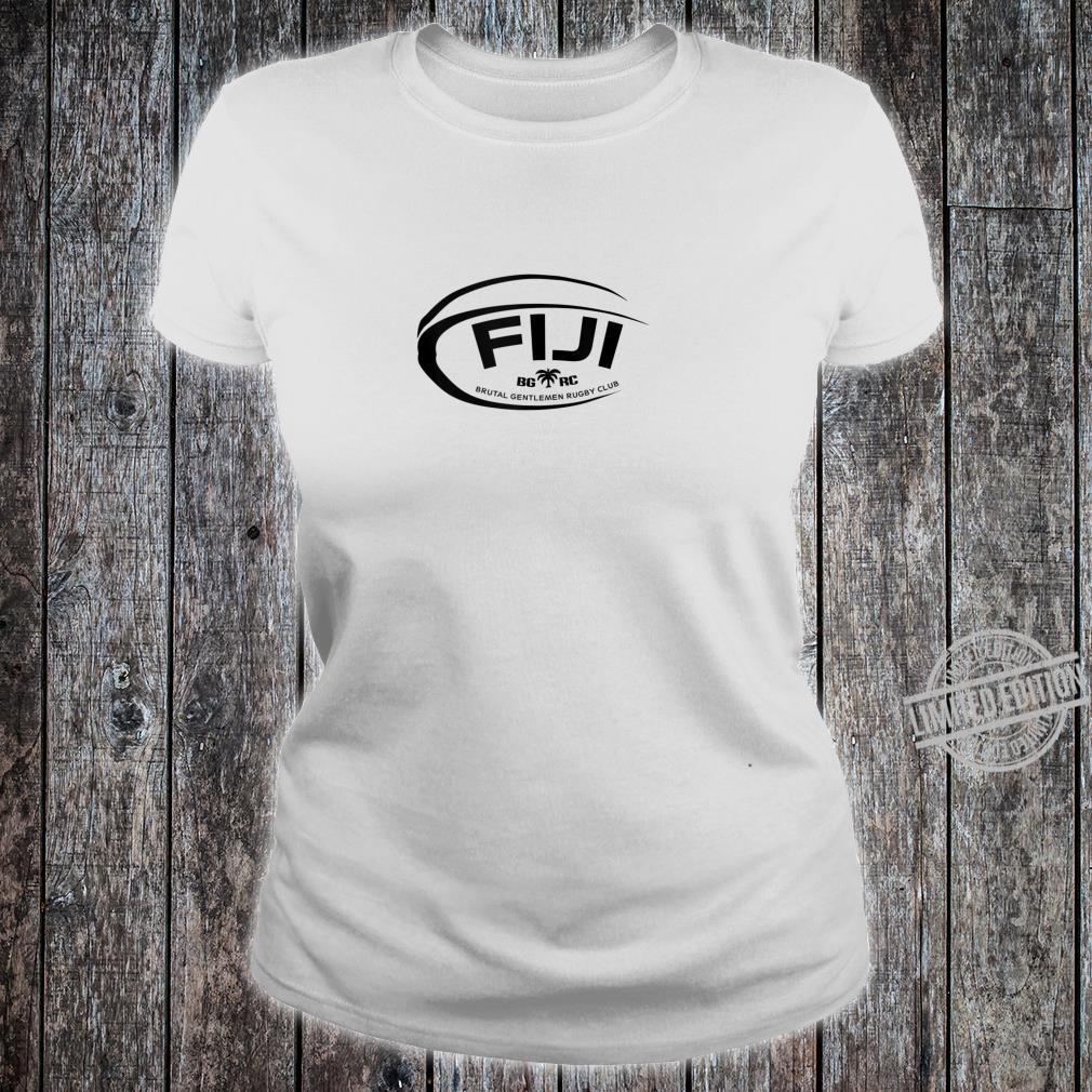 Brutal Gentlemen Fiji Rugby Football Icon Shirt ladies tee