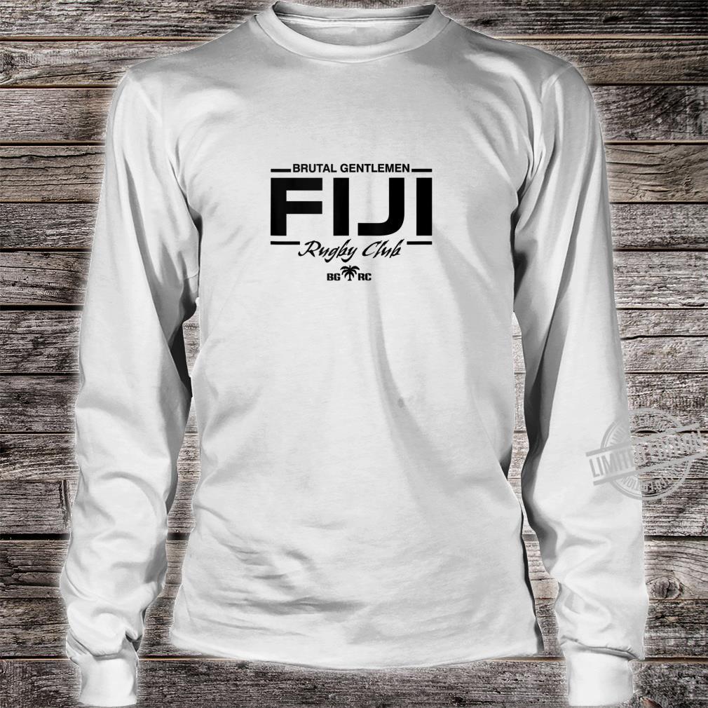 Brutal Gentlemen Rugby Club Fiji Shirt long sleeved