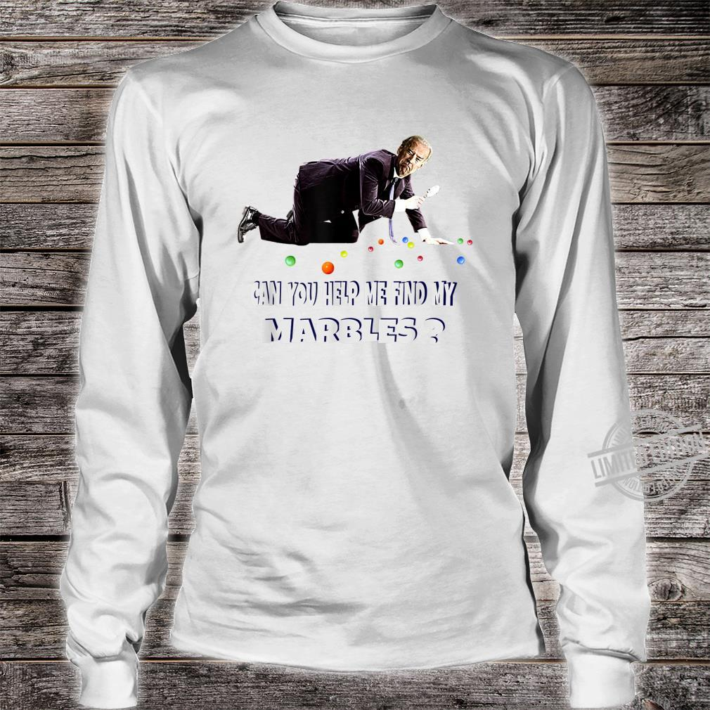 CAN YOU HELP ME FIND MY MARBLES Joe Biden Campaign Shirt long sleeved