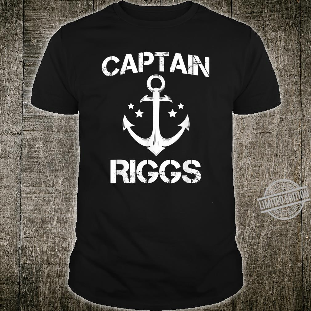 CAPTAIN RIGGS Birthday Personalized Surname Clan Shirt