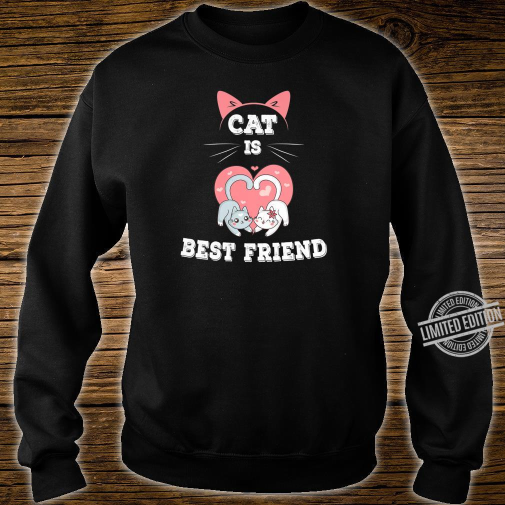 Cat is Best Friend EverI fall in Love with My Kitty Shirt sweater