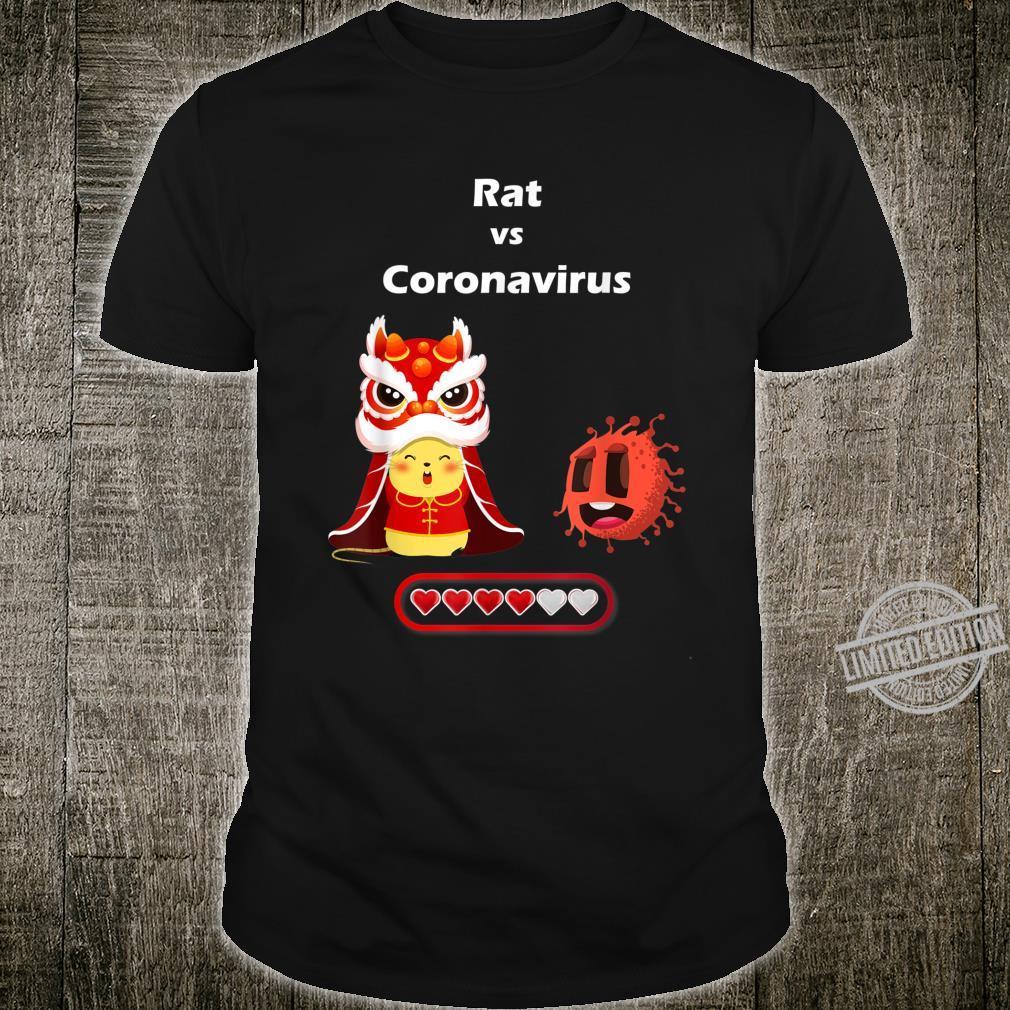 Chinese New Year Rat vs Coronavirus 2019nCoV Shirt