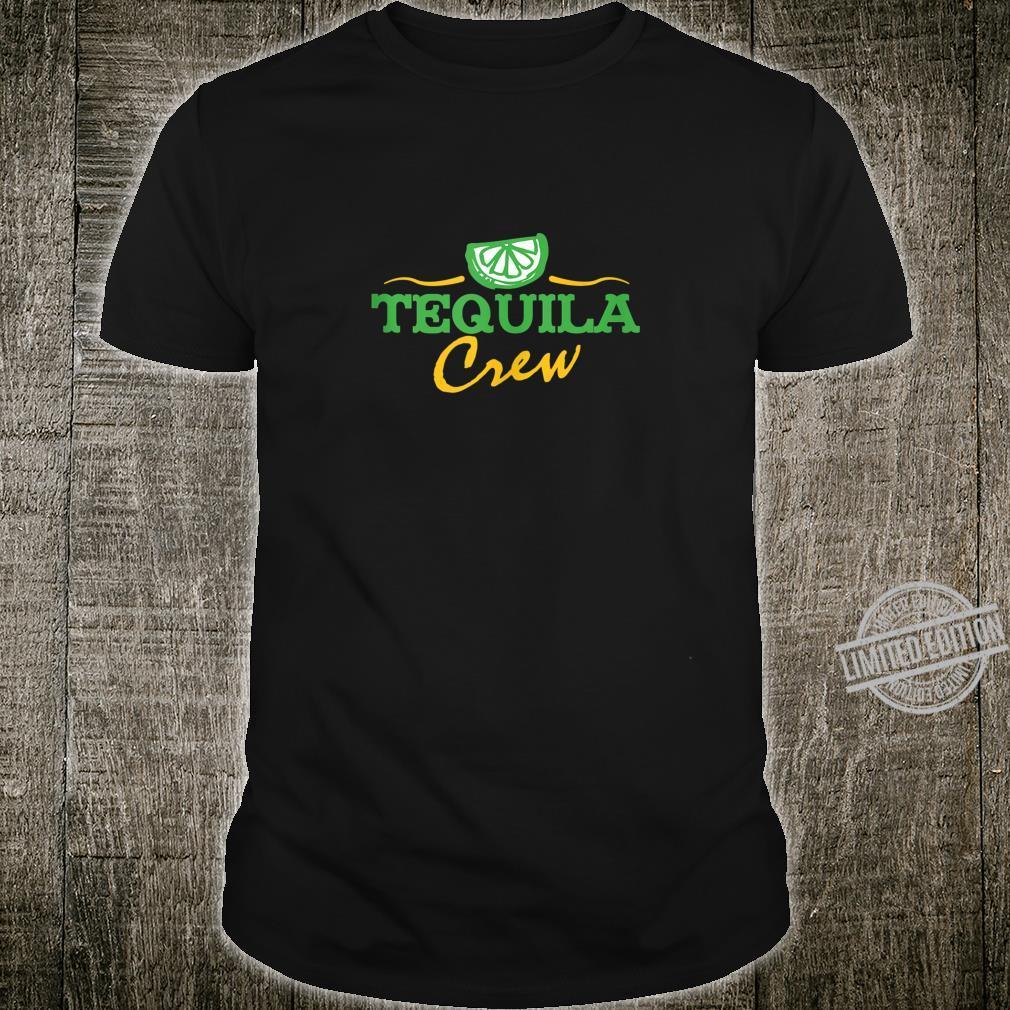 Cinco De Mayo Tequila Crew Drinking Party Shirt