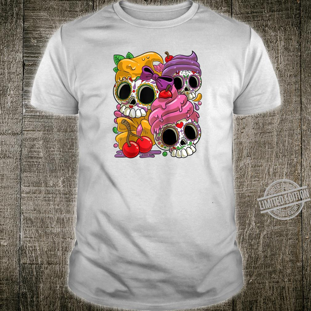 Cinco De Mayo and Day of the Dead Sugar Skulls Shirt