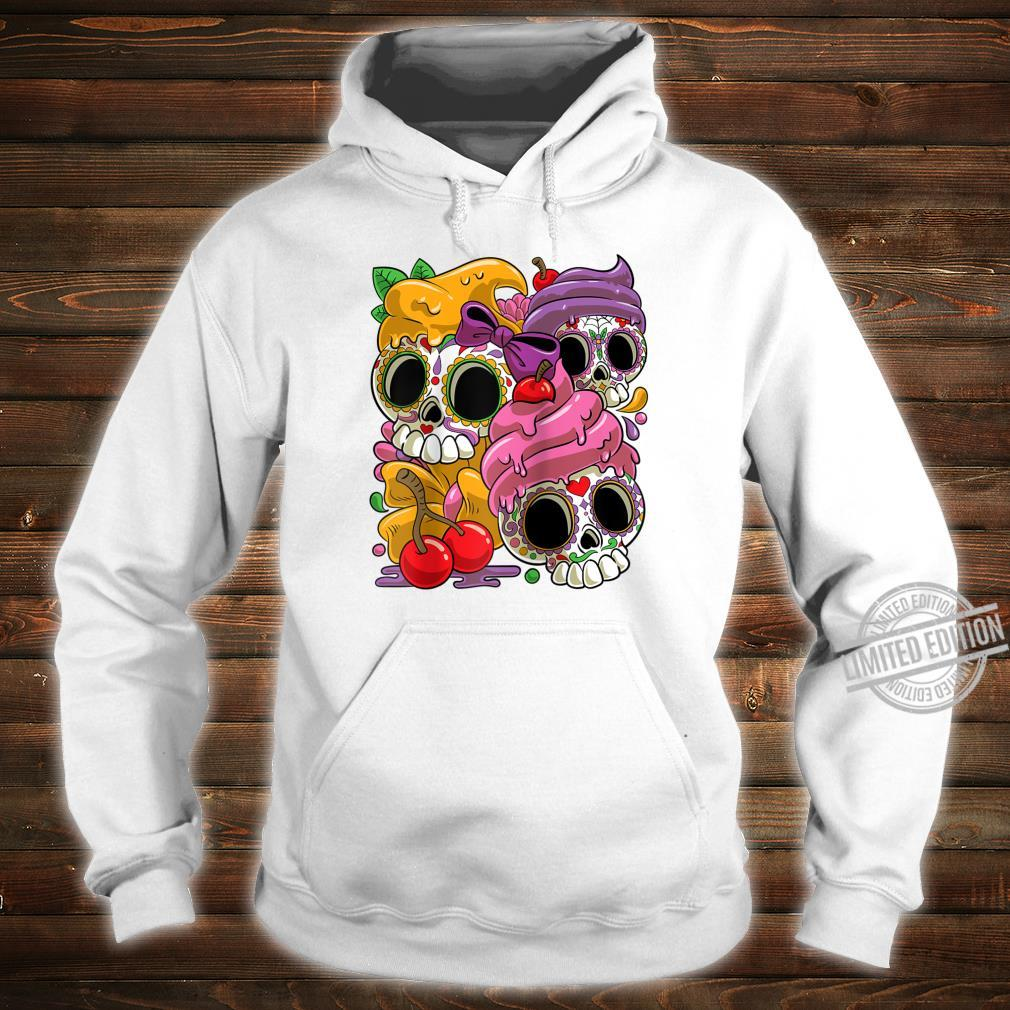 Cinco De Mayo and Day of the Dead Sugar Skulls Shirt hoodie