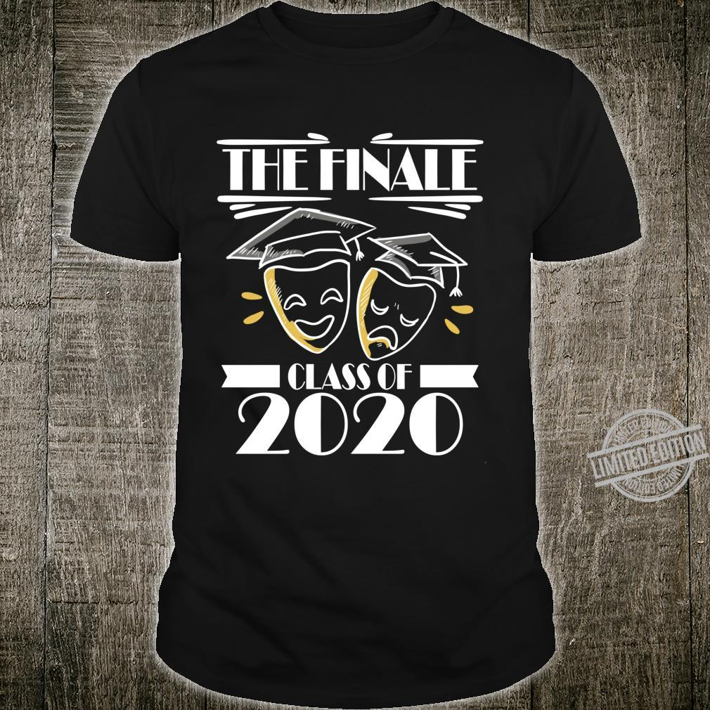 Class of 2020 Graduation Theater Drama Actor Senior Shirt