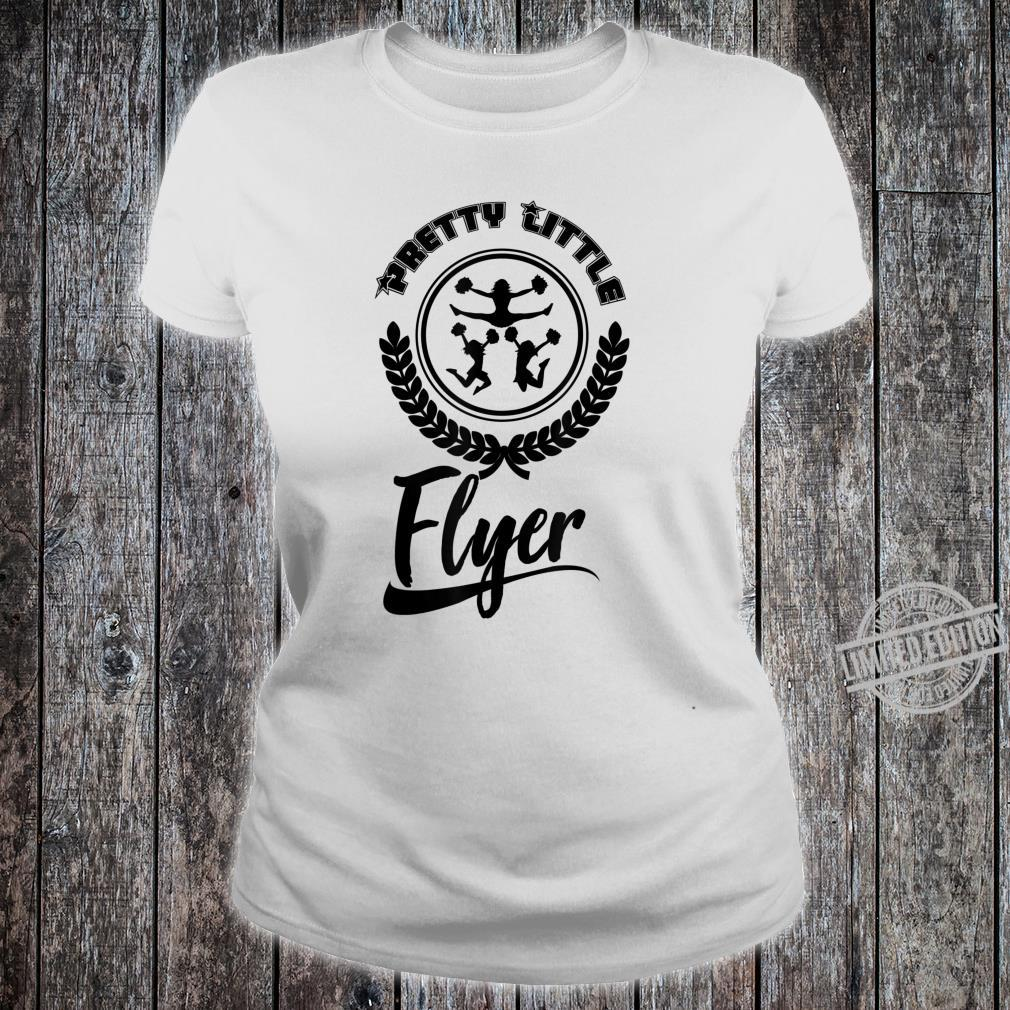 Cool Pretty Little Flyer Cheerleading Dancer Shirt ladies tee