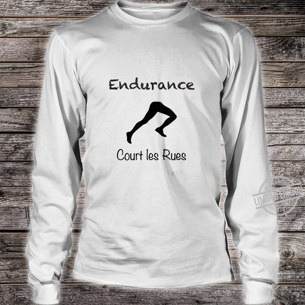 Court les Rues Endurance, Sporty's's or Youth Shirt long sleeved