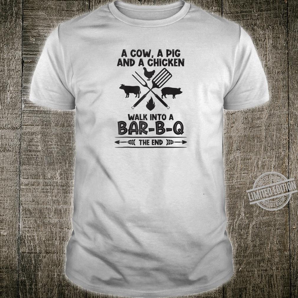 Cow pig chicken meat bbq backyard grill grilling Shirt