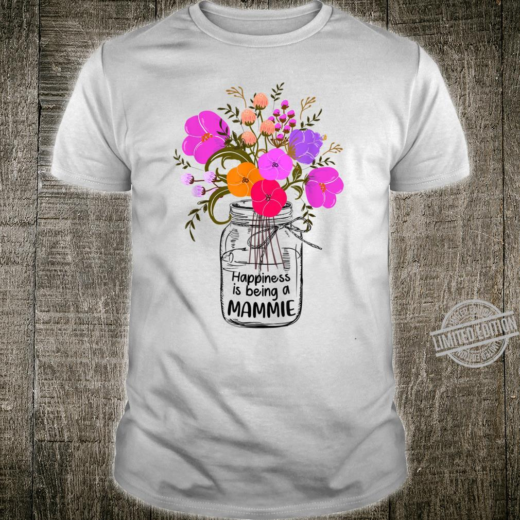 Cute Mom Shirt HappinessIsBeingAMammie Floral Shirt