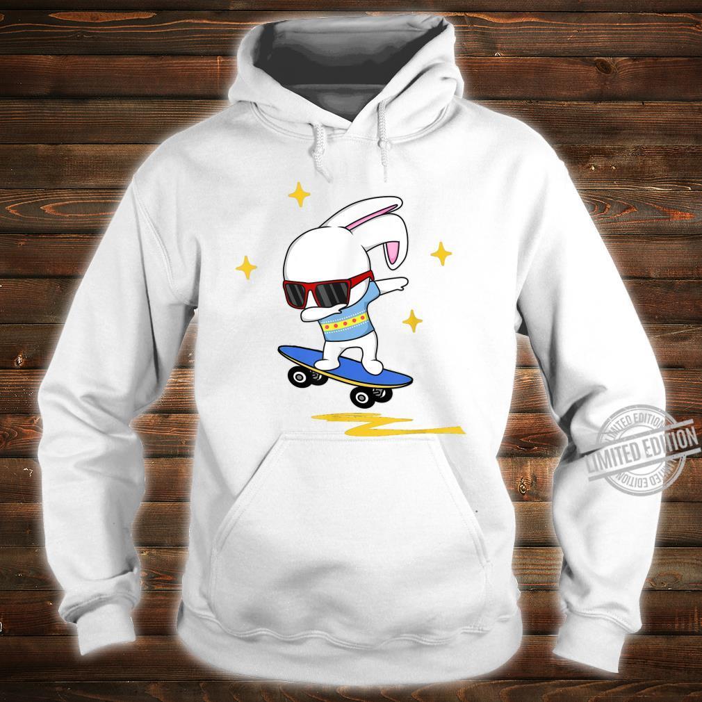 Dabbing Easter Bunny Rabbit Novelty Skater Jump And Flip Shirt hoodie