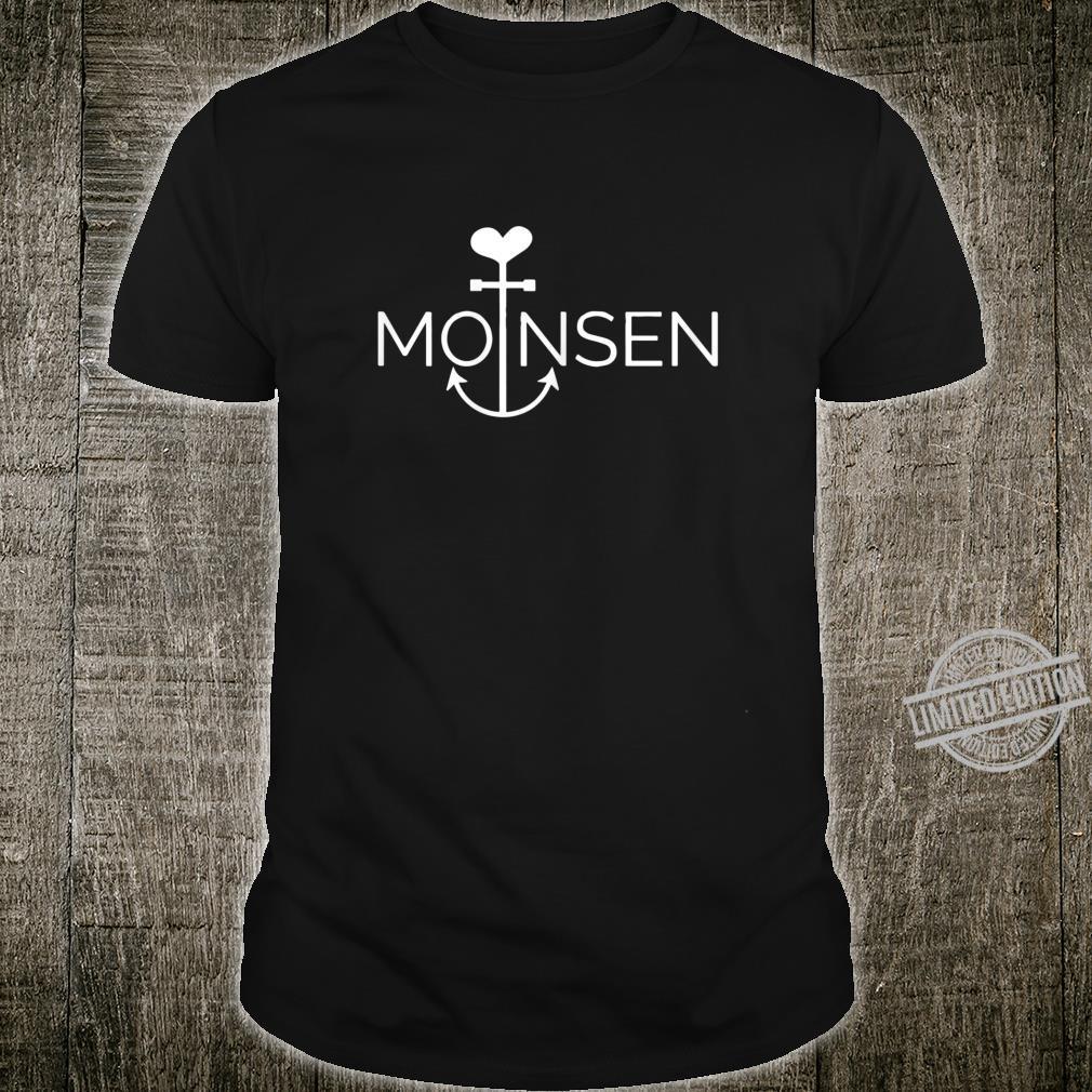 Damen Moinsen Hamburgerin Anker Mit Herz Moin Moin Geschenk Shirt