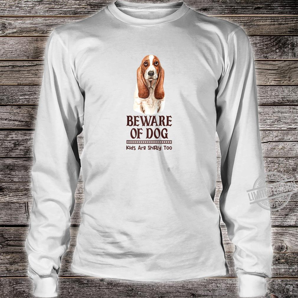 Dog Mom and Dad for Parents of Basset Hound Shirt long sleeved