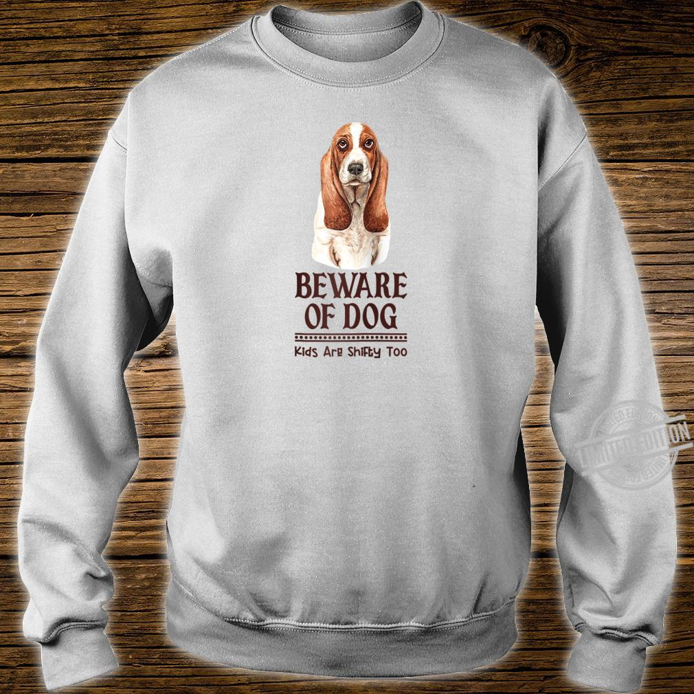 Dog Mom and Dad for Parents of Basset Hound Shirt sweater