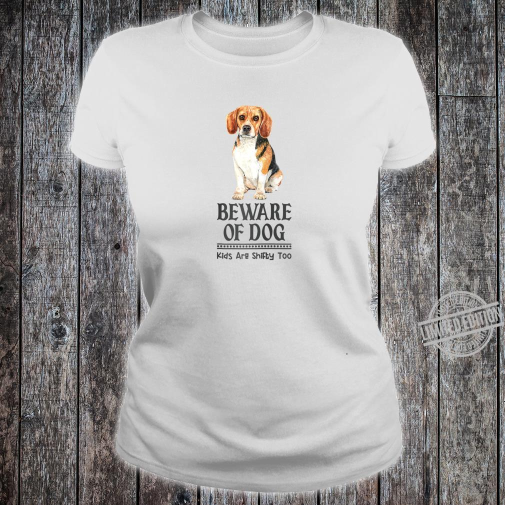 Dog Mom and Dad for Parents of Beagle Shirt ladies tee