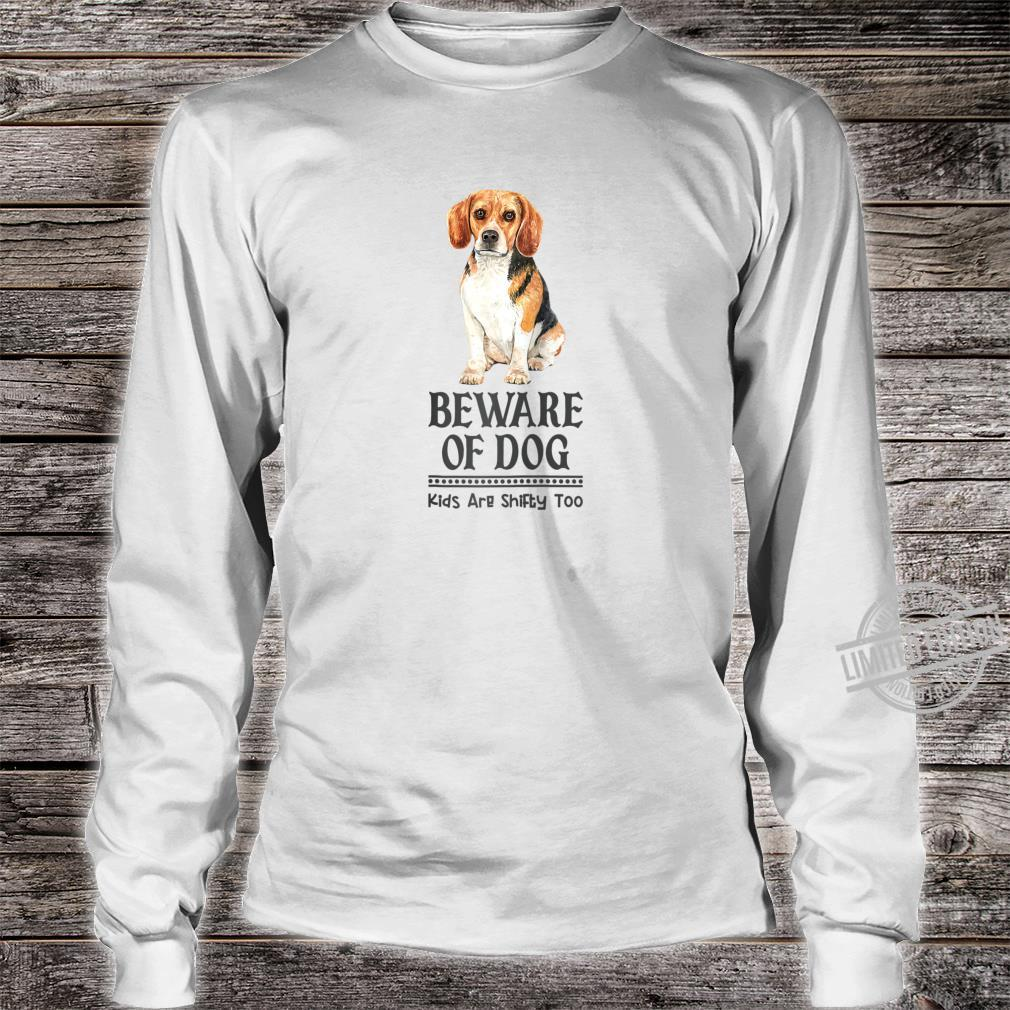 Dog Mom and Dad for Parents of Beagle Shirt long sleeved