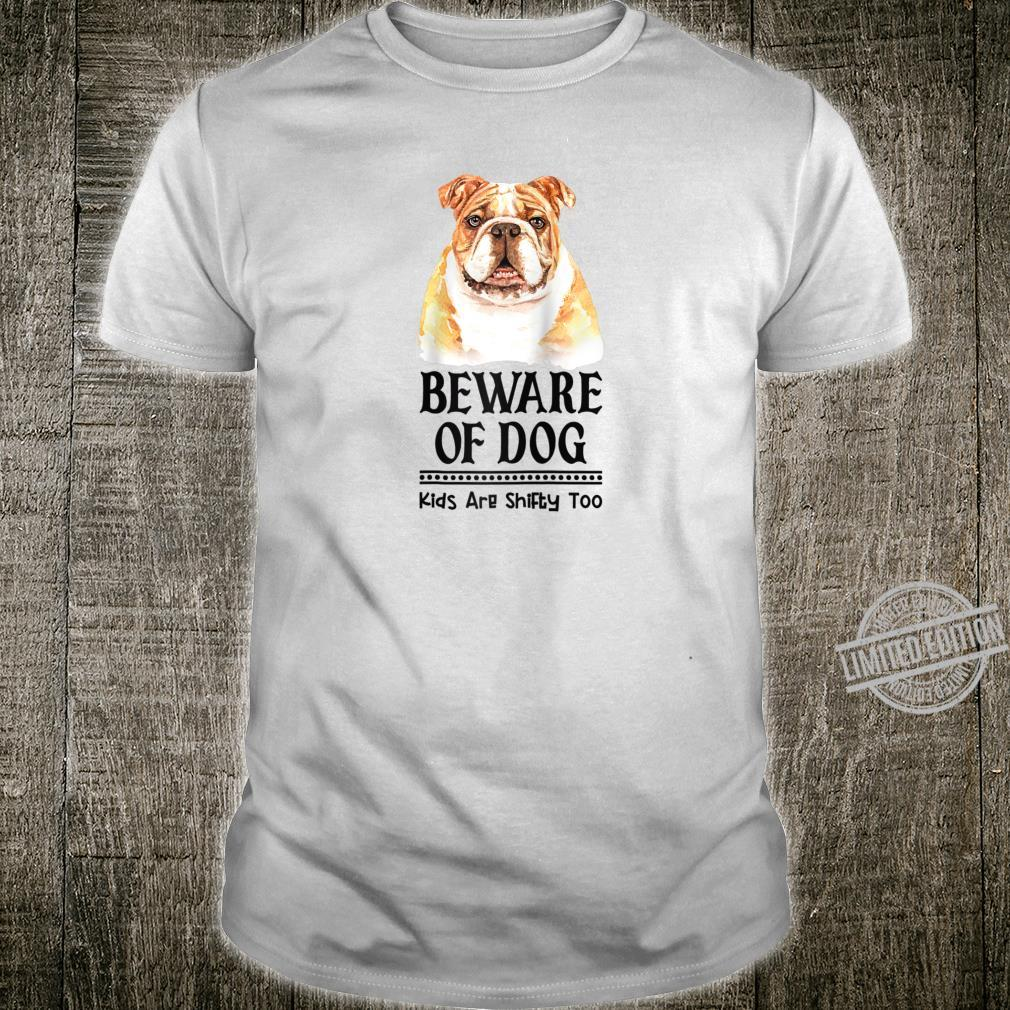 Dog Mom and Dad for Parents of English Bulldog Shirt