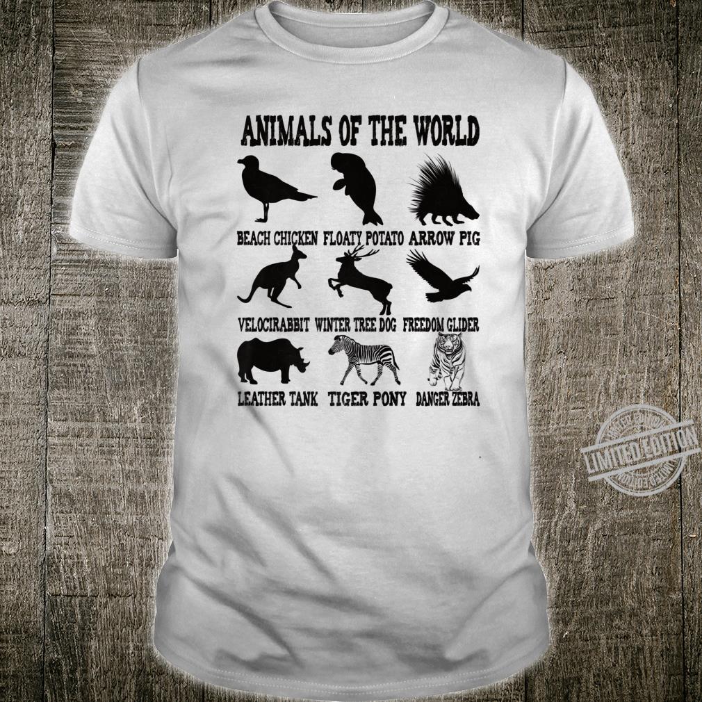 Funny Animal Names Shirt