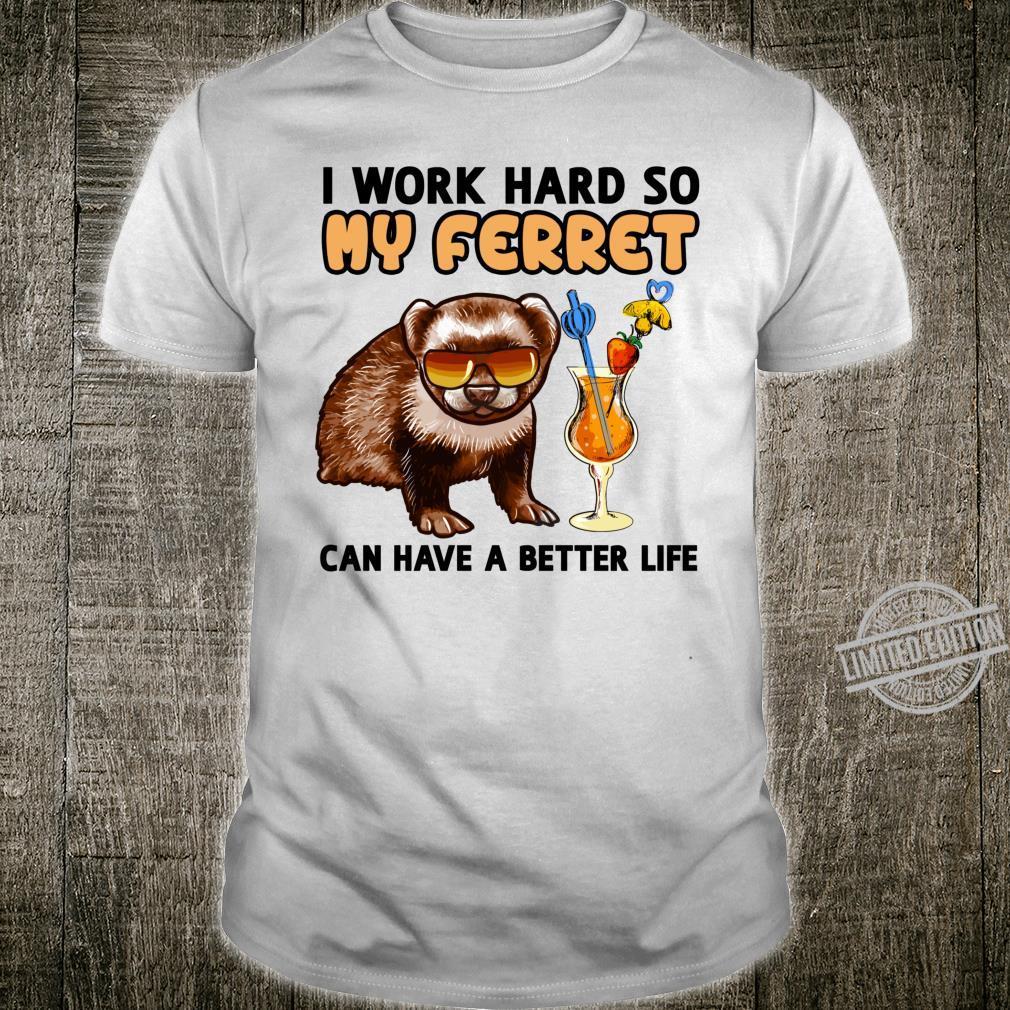 Funny Ferret Lover Ferret Shirt