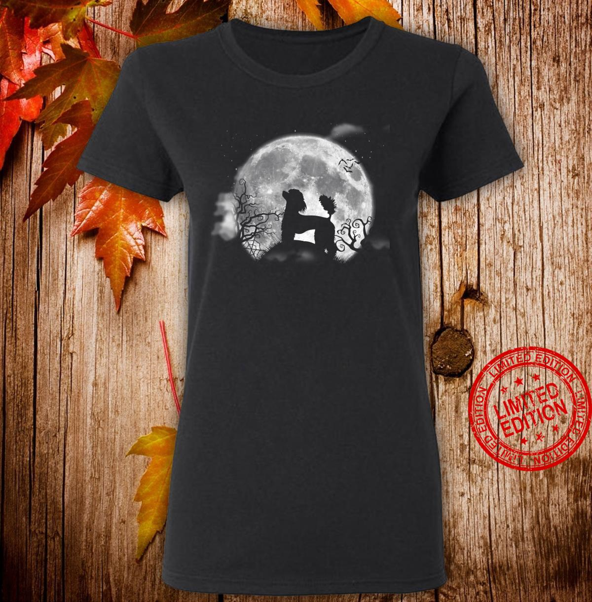 Funny Poodle Halloween Costume Shirt Dog Shirt ladies tee