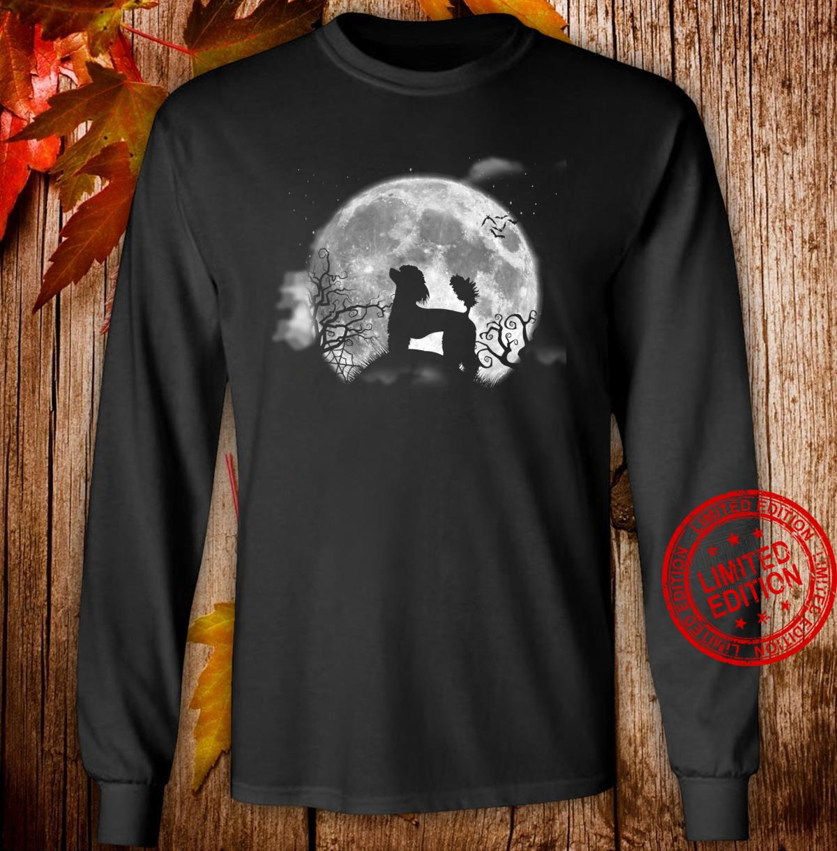 Funny Poodle Halloween Costume Shirt Dog Shirt long sleeved