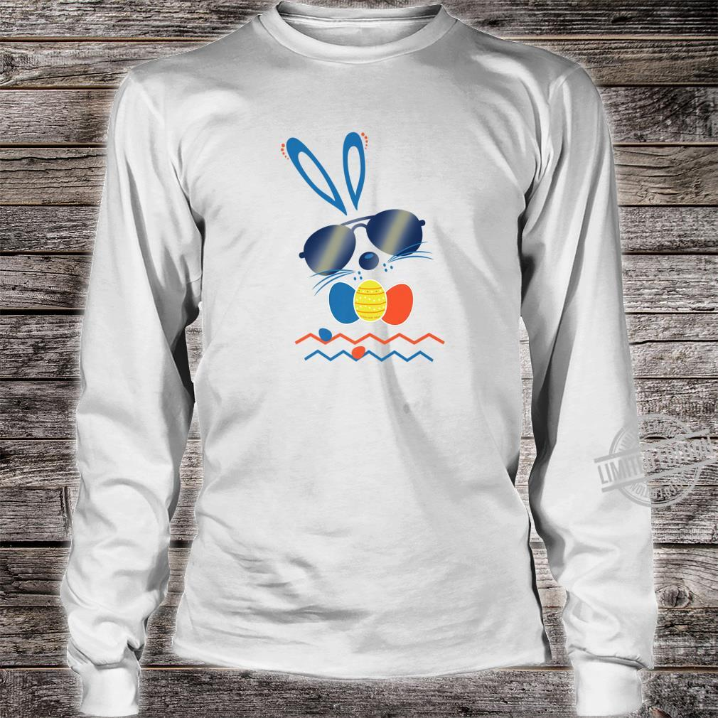 Funny and Cute Hip Hop Easter Bunny Rabbit Shirt long sleeved