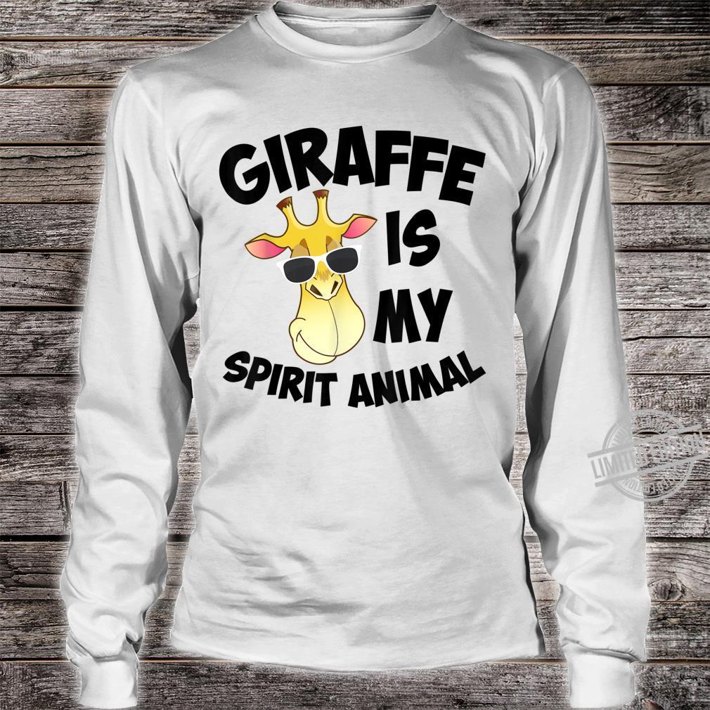 Giraffe Is My Spirit Animal Cute African Okapi Shirt long sleeved