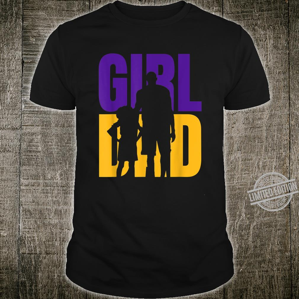 #GirlDad Girl Dad Proud Father of Daughters Cute Fathers Day Shirt