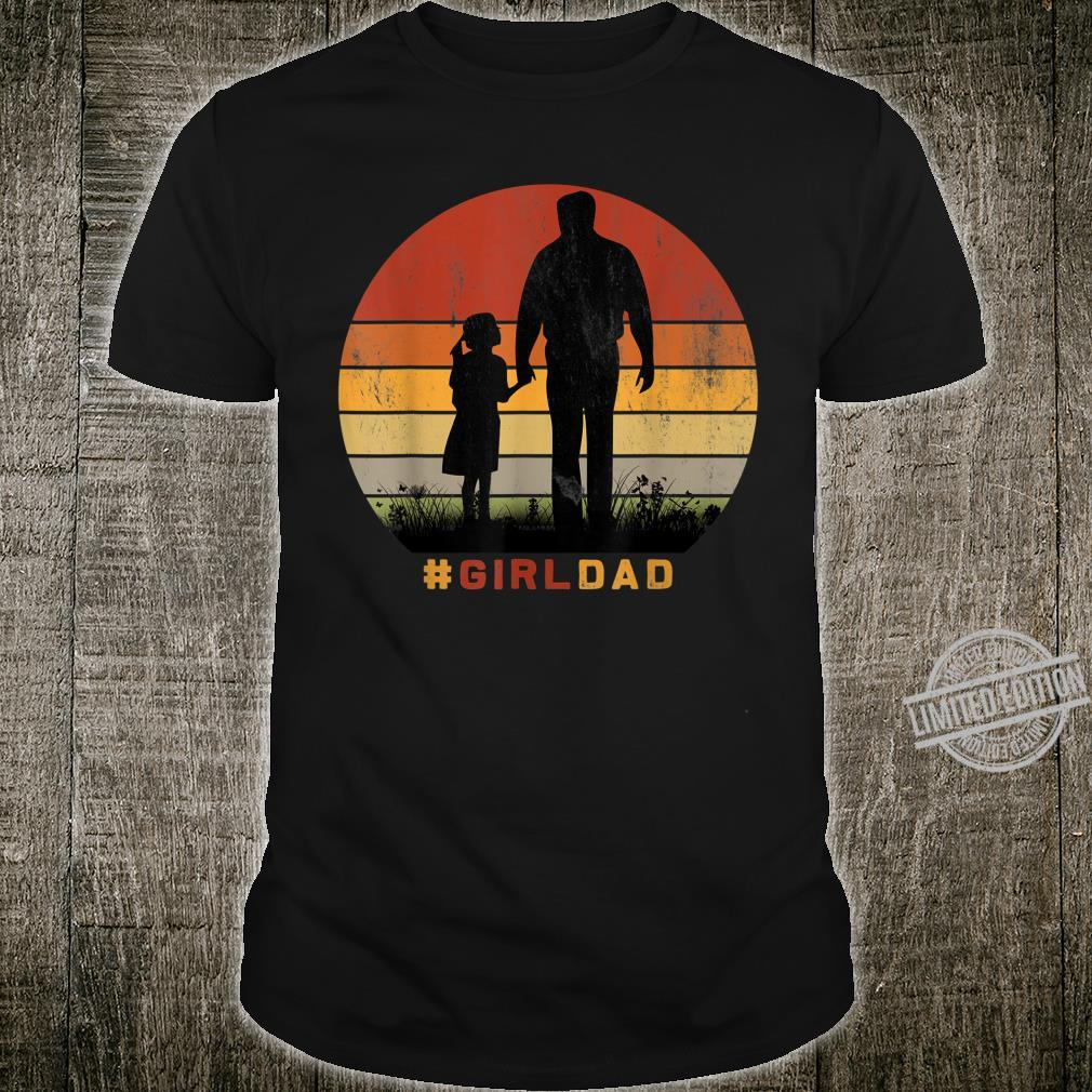 #Girldad Girl Dad Father & Daughter Retro Basketball Shirt
