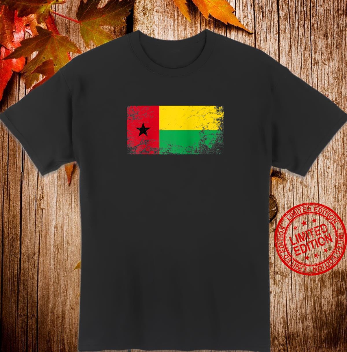 GuineaBissau National flag vintage patriotic Shirt