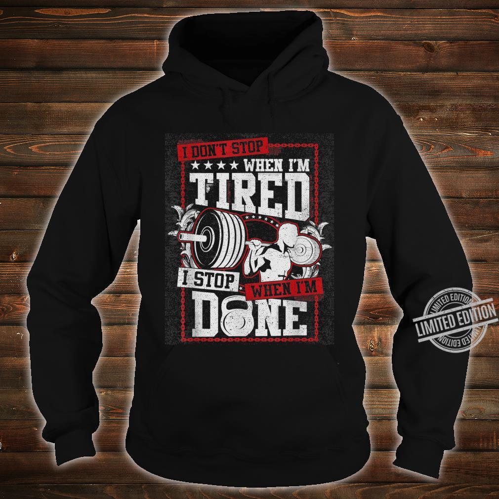 Gym Workout Shirt hoodie