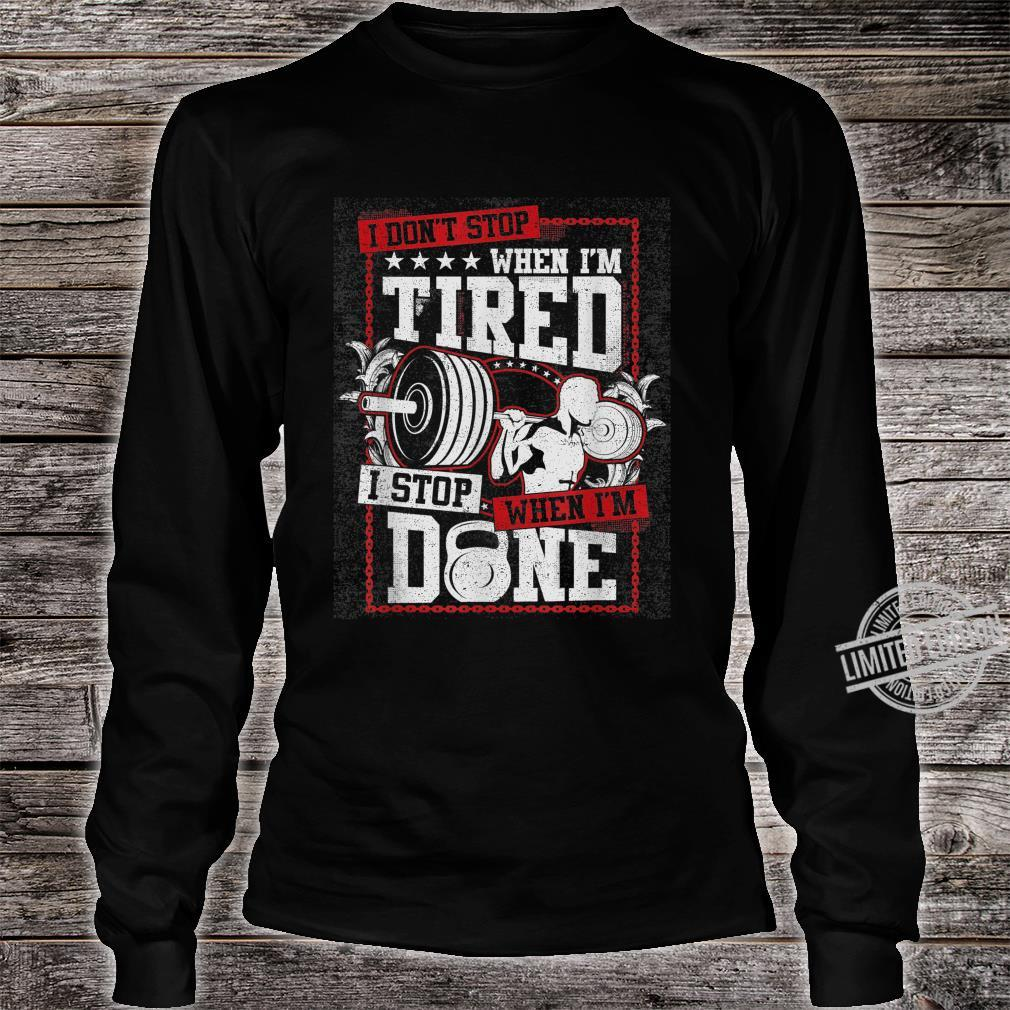 Gym Workout Shirt long sleeved