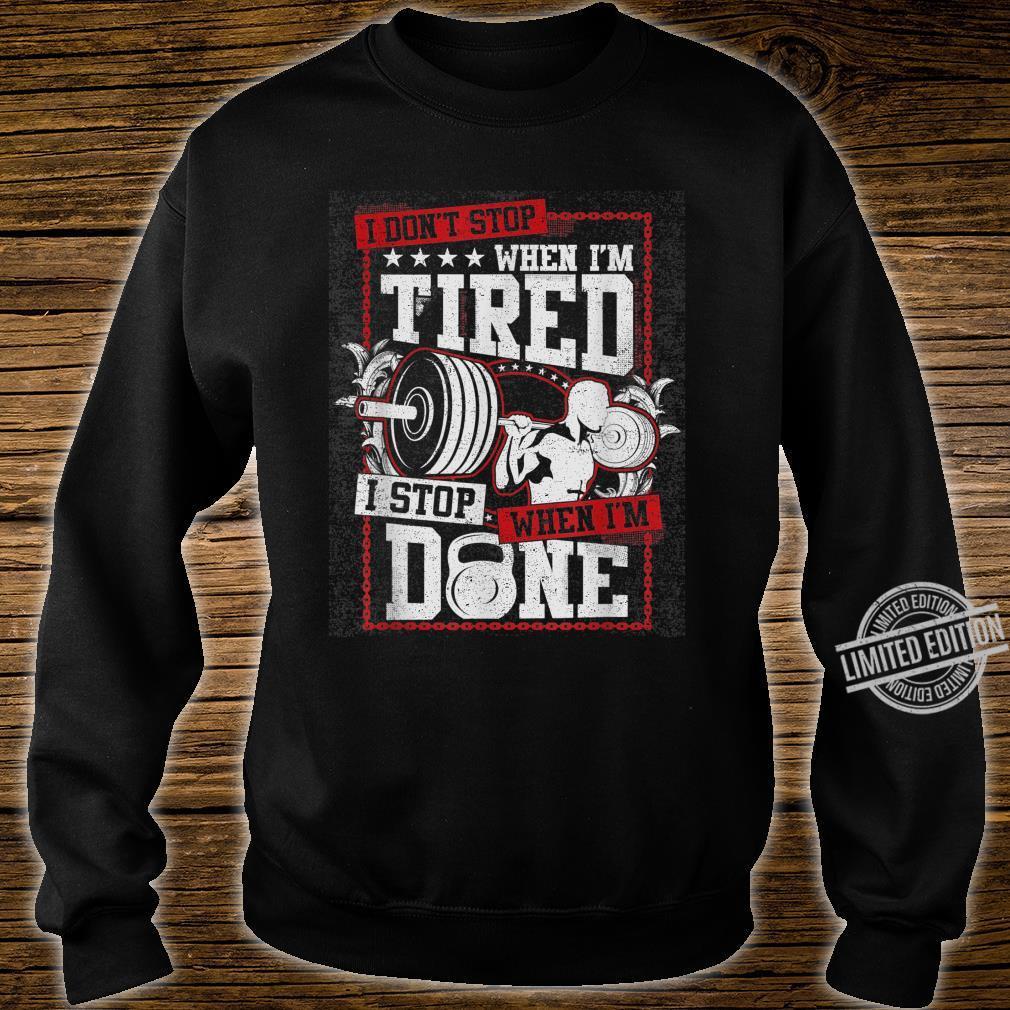 Gym Workout Shirt sweater