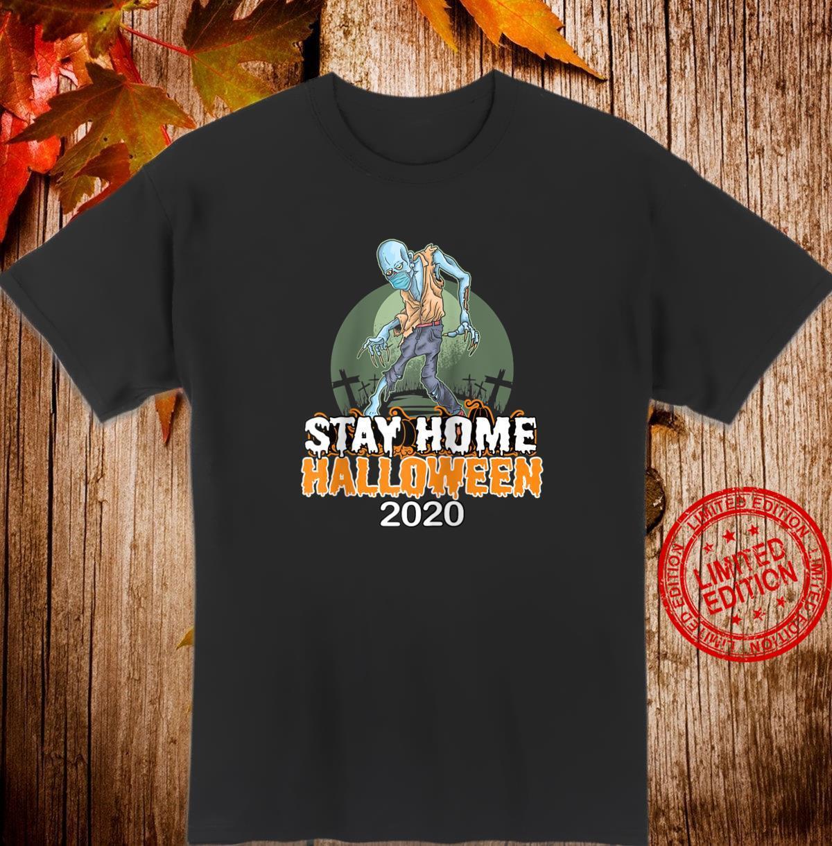 Halloween 2020 Quarantine Social Distancing Wear a Mask Shirt