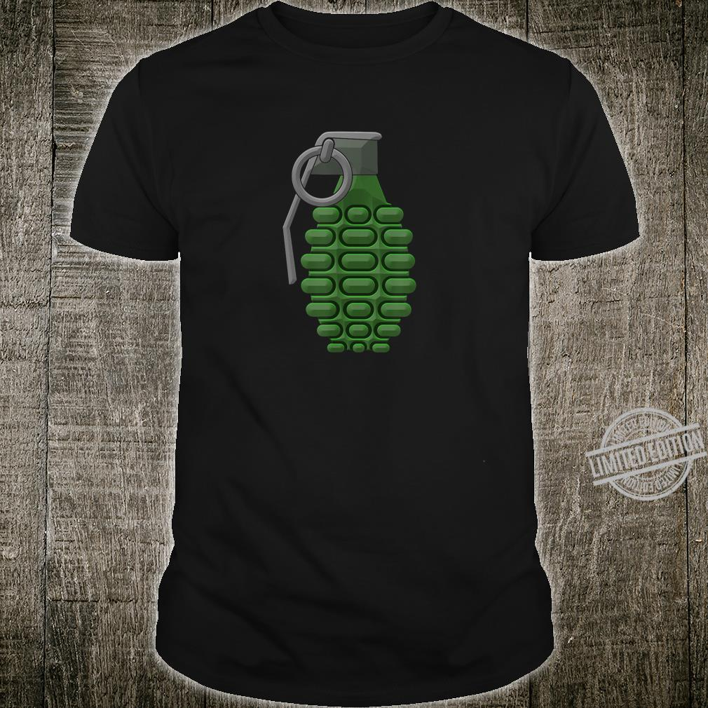 Hand Grenade Shirt Gaming Gamer Shirt