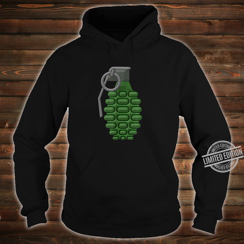 Hand Grenade Shirt Gaming Gamer Shirt hoodie