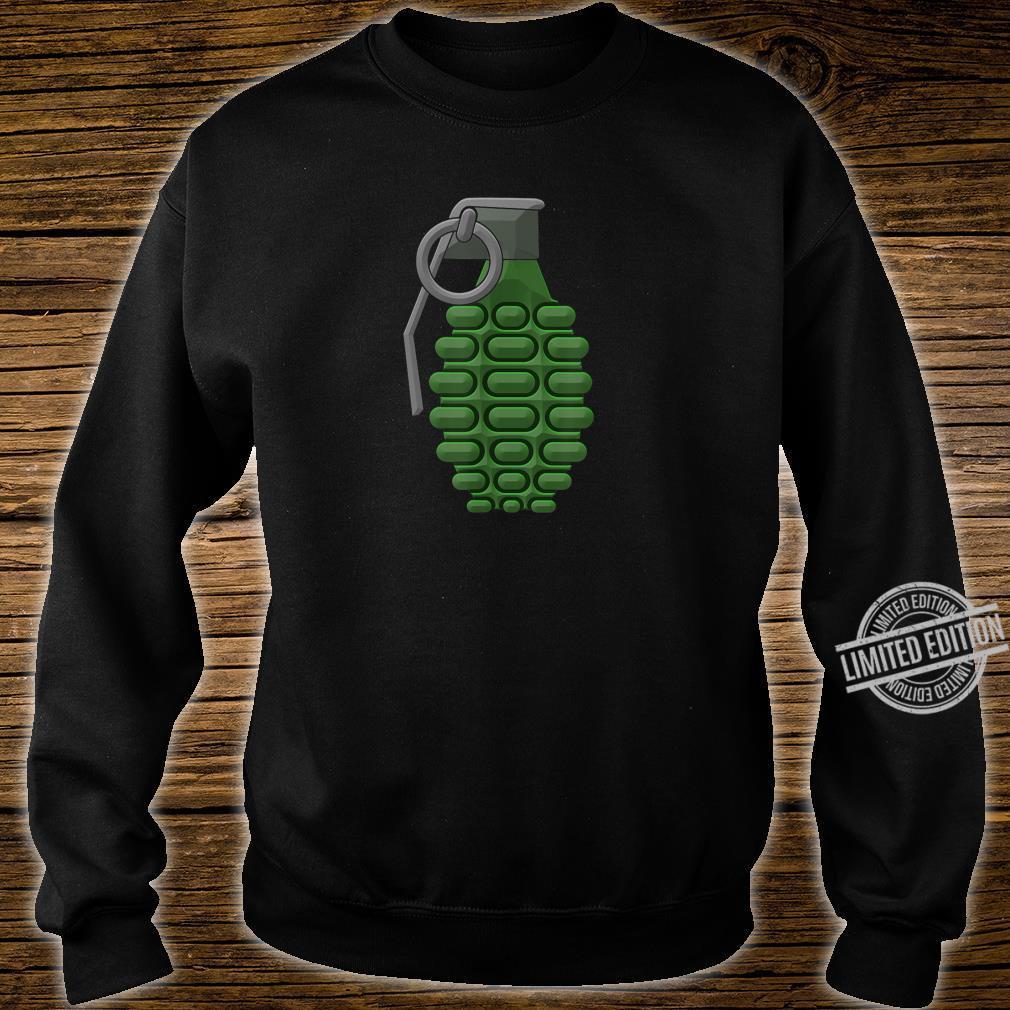 Hand Grenade Shirt Gaming Gamer Shirt sweater
