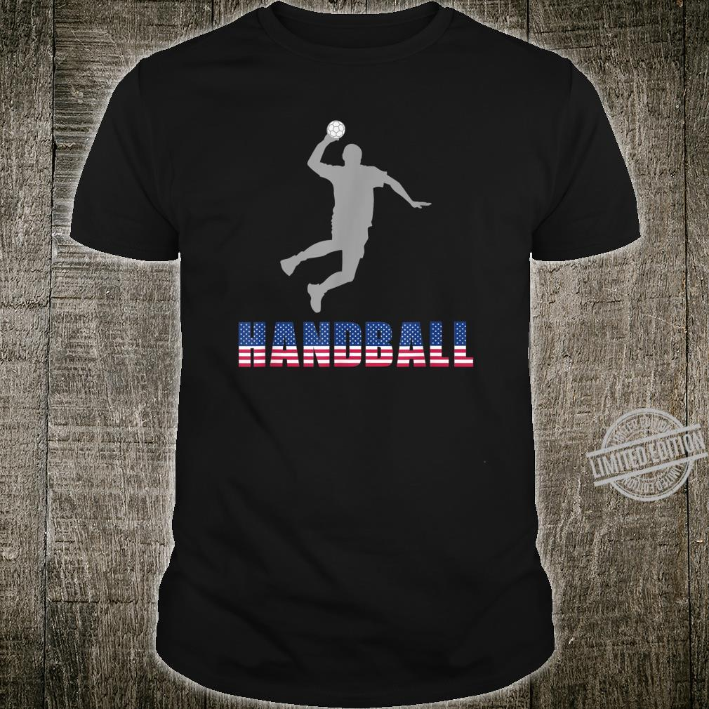 Handball Game Ball Team Court Player Coaching Shirt