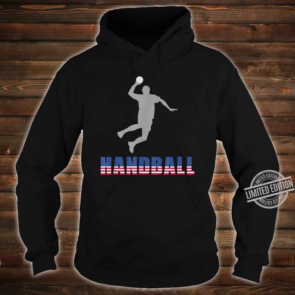 Handball Game Ball Team Court Player Coaching Shirt hoodie