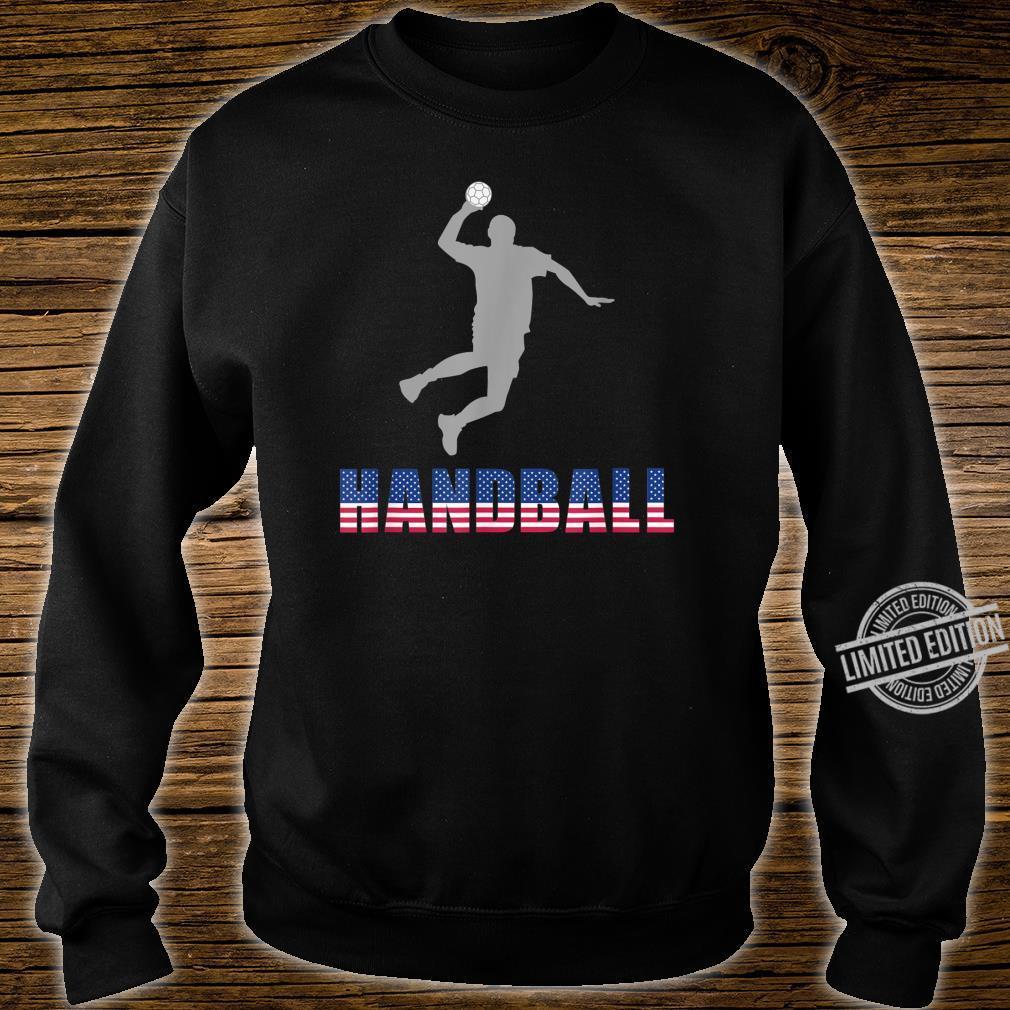 Handball Game Ball Team Court Player Coaching Shirt sweater