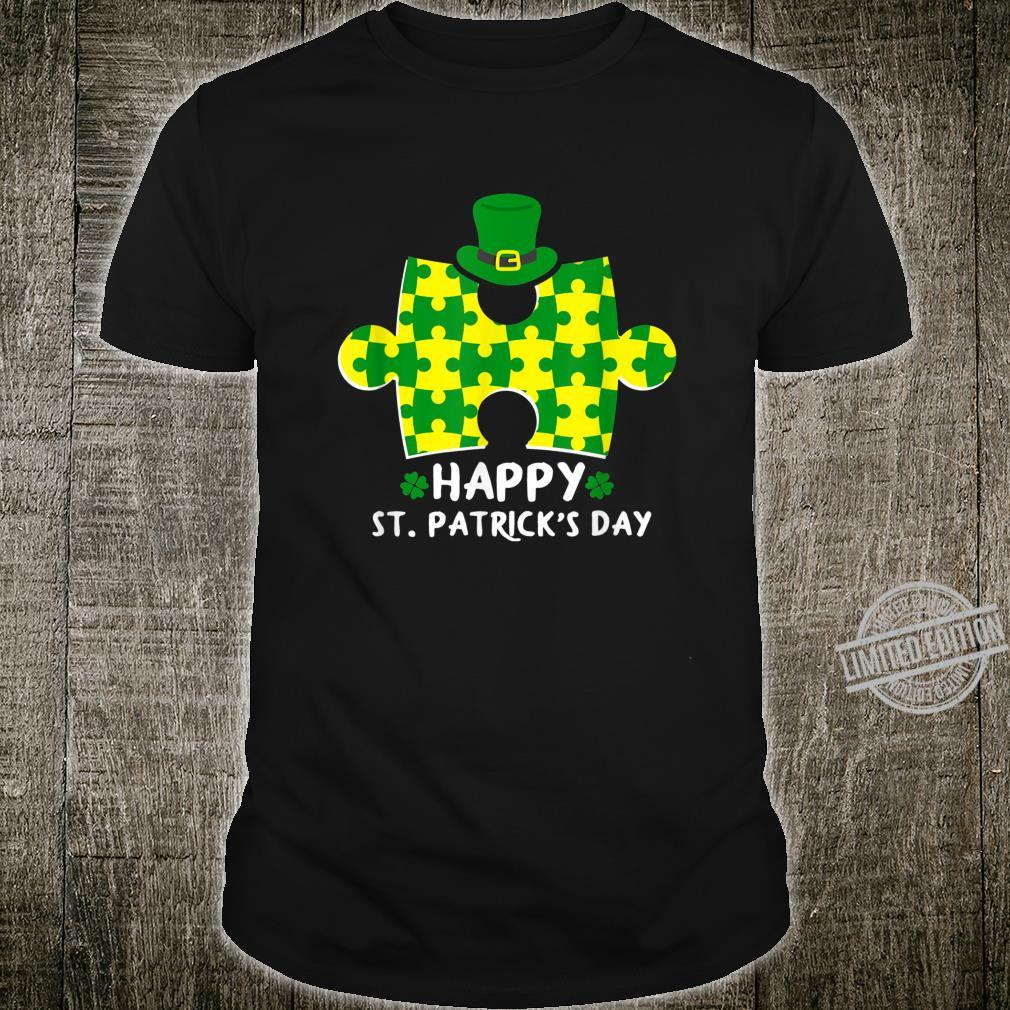 Happy St. Patrick's Day Autism Shirt