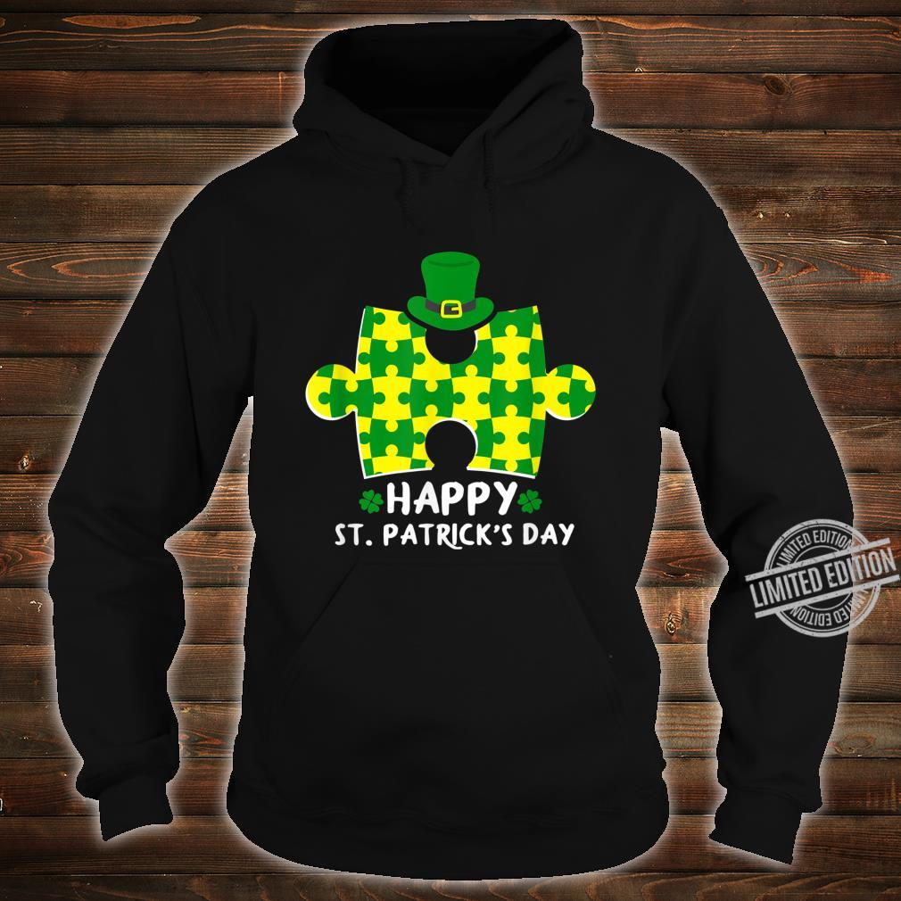 Happy St. Patrick's Day Autism Shirt hoodie
