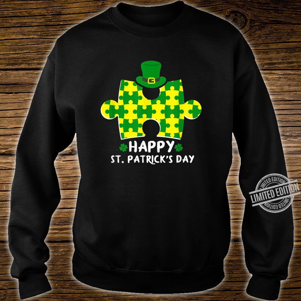 Happy St. Patrick's Day Autism Shirt sweater