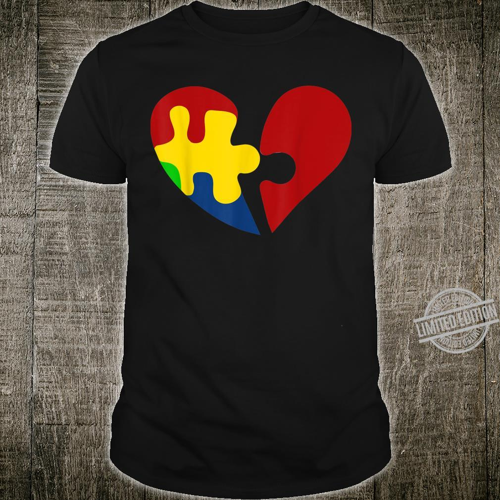 Hearth Puzzle Awareness Day Products Shirt