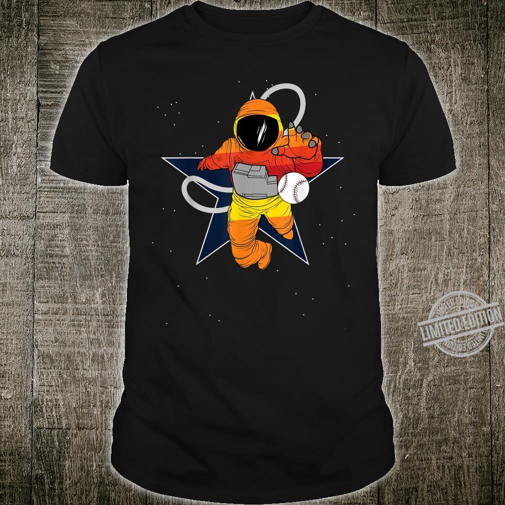 Houston Baseball Astronaut Shirt