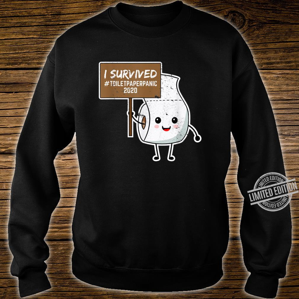 I Survived Toilet Paper Shortage Germs Virus Shirt sweater