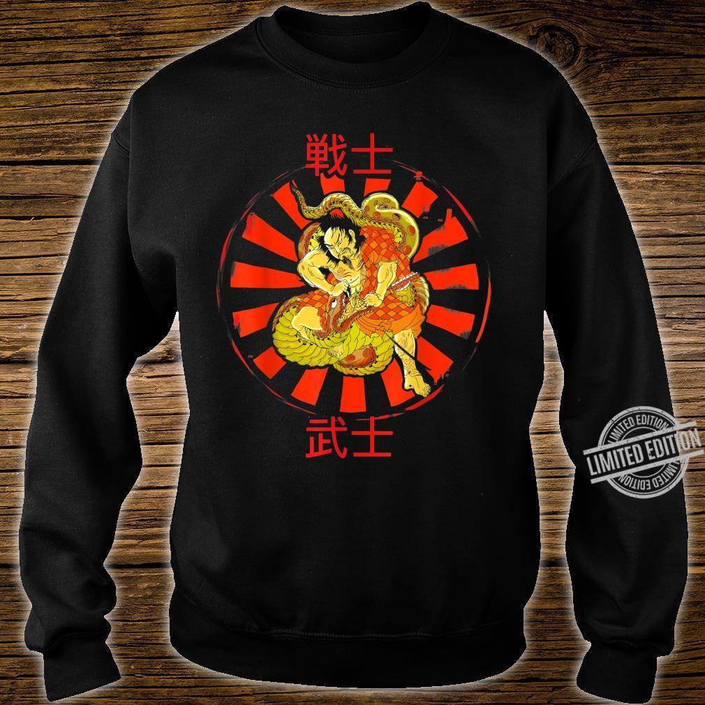 JAPANESE POP ART, SAMURAI WARRIOR ILLUSTRATION Shirt sweater